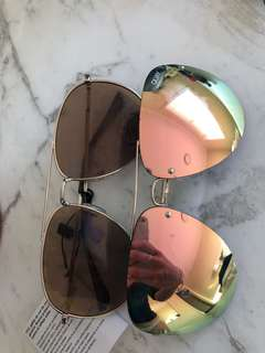 Womens quay sunglasses aviator