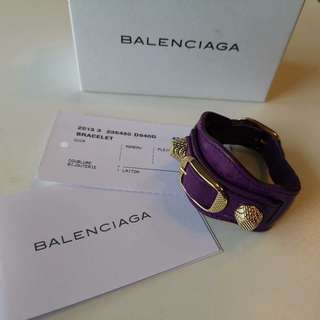 Authentic Balenciaga Giant Gold Bracelet