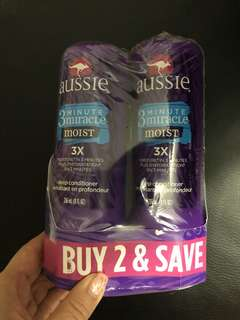Aussie 3 minute miracle moist deep conditioning treament
