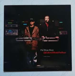 Pet shop boys original LP record