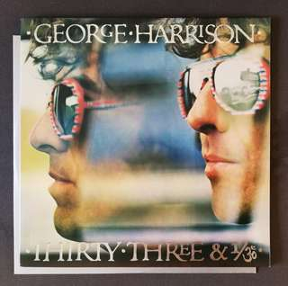 GEORGE Harrison level 42 Beyonce original lp record