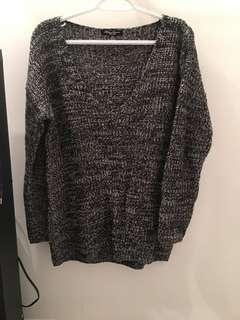 Large oversized sweater