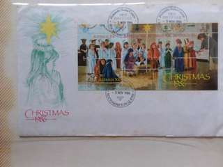 Australia Christmas First Day Cover
