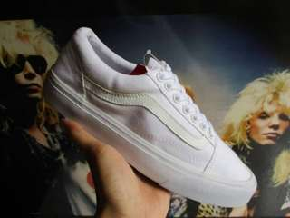 Vans oldskool all white