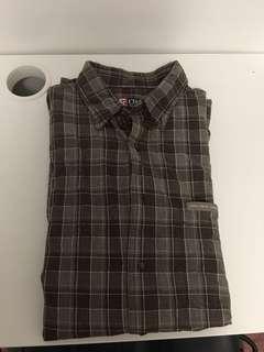 Oversized Ralph Lauren flannel