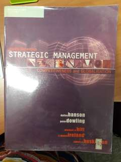 Strategic management competitivness & globalization
