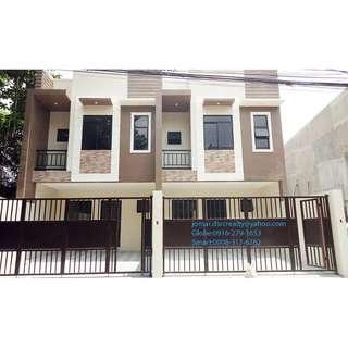 New RFO Townhouse For Sale At L. De Guzman St. Marikina City (Inner Slot Unit)