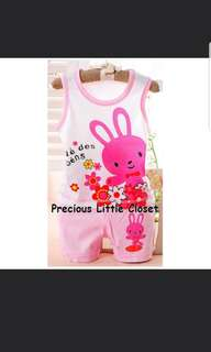 Rabbit Sleeveless Set