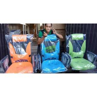 HB-9002H MIDBACK CHAIRS - ORANGE  BLUE AND GREEN--KHOMI