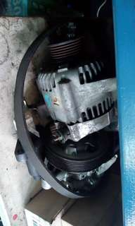Alternater n starter motor