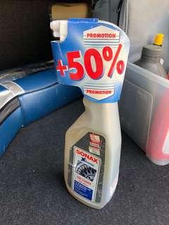 Sonax wheel cleaner X2 bottles