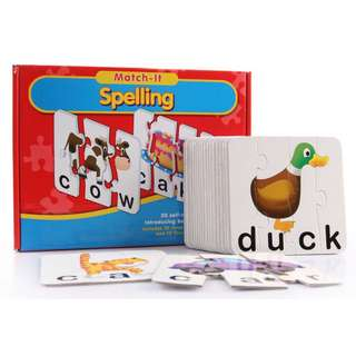 Educational spelling game match it spelling brand new free delivery