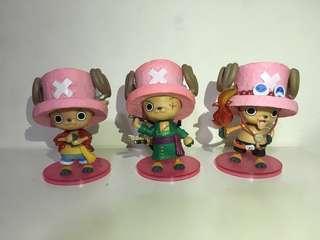 One Piece CHOPPER (Ace, Zoro, Luffy)