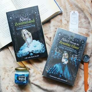 Alice in Zombieland + Alice Through The Zombie Glass by Gena Showalter (SOLD AS SET)