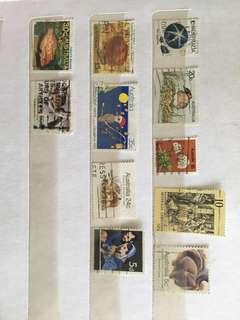 Australia Stamps set
