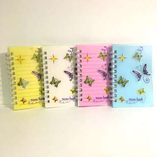 Small Butterfly Notebook SET