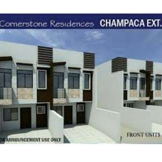 New Pre - Selling Townhouse Unit's In Champaca St. Marikina City