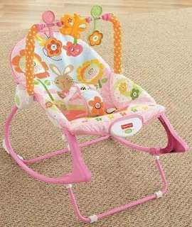 Fisher Price Baby Rocker and Toddler Chair
