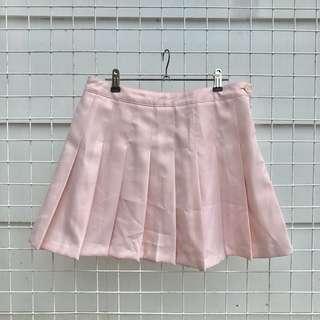 Forever21 Pink Skater Skirt