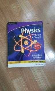 Cambridge IB physics textbook Tsokos