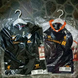 Liverpool Warrior Away Third 3rd Kit Red Black Grey Jersey 2012-2013 for Baby Babies Toddler
