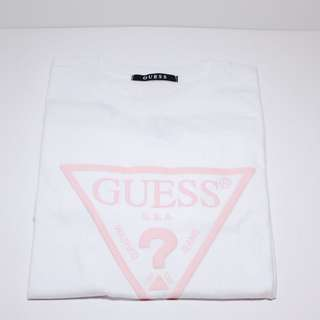 Guess Tee 白粉