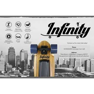 Infinity Board x Pro - Your Urban Commute!