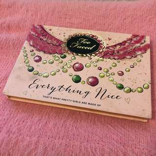 Too Faced 'Everything Nice' palette