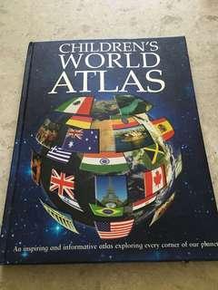 Children world atlas(hardcover)