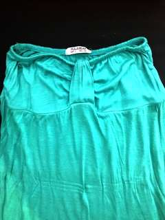 Turquoise Tube Top #20under