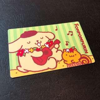 布甸狗 麥當勞 咭 一張 Card