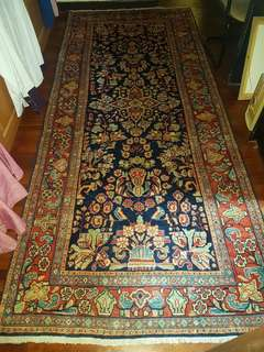 Original Malayer Persian Carpet 50 years old