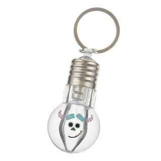日本 Disney Store 直送 Monster Inc. 怪獸公司 / Monster University 怪獸大學毛毛 Sulley 發光燈膽仔掛飾匙扣