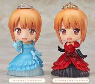Nendoroid more dress up Blue and red