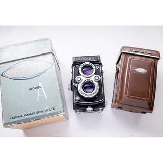 Yashicaflex TLR medium format camera