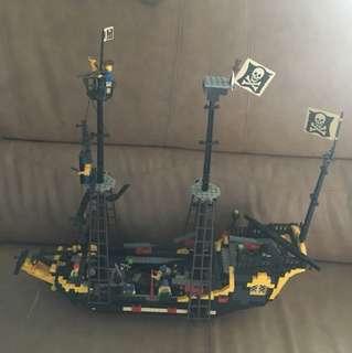 積木海盜船