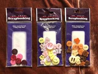 Scrapbooking Buttons