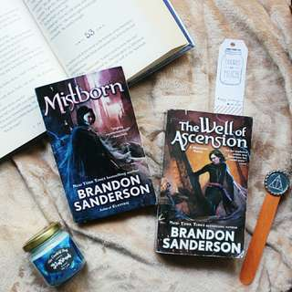 Mistborn & The Well of Ascension by Brandon Sanderson (SOLD AS SET)
