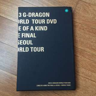 2013 G-DRAGON WORLDTOUR ONE OF A KIND THE FINAL IN SEOUL