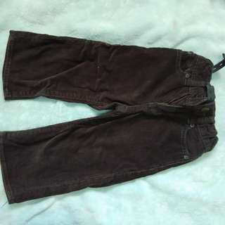 Gap Baby culdoroy pants