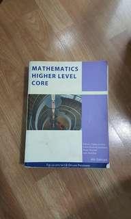 IBID Math Higher level Textbook