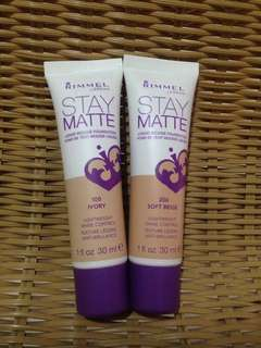 Rimmel Stay Mattr