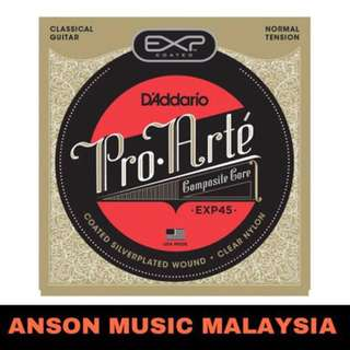 D'Addario EXP45 Coated Pro-Arte Normal Tension Classical Guitar Strings