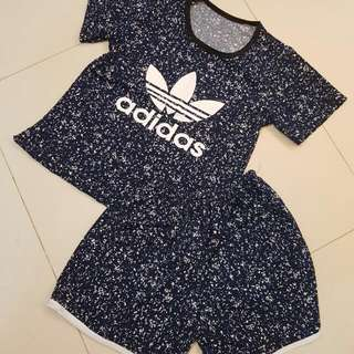 BN - Sweet Adidas Cooling Top With Pant
