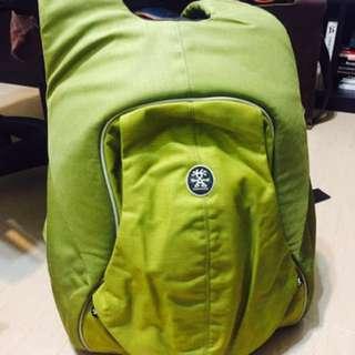 🚚 Crumpler MatchMaker 澳洲小野人 後背攝影包 / 防搶包 綠色