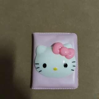 🚚 全新 hello kitty 立體凱蒂貓 隨身鏡 鏡子 粉紅色