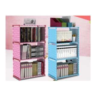 Rak buku rak serbaguna rak portable lemari buku - HPR062
