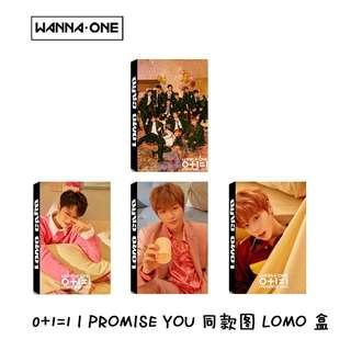 Wanna One IPU lomo cards