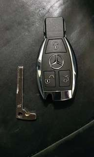 Mercedes OEM Blank 3 button 433mhz remote key
