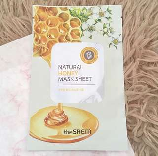 ⚠️SALE ⚠️ THE SAEM Natural Honey Mask Sheet